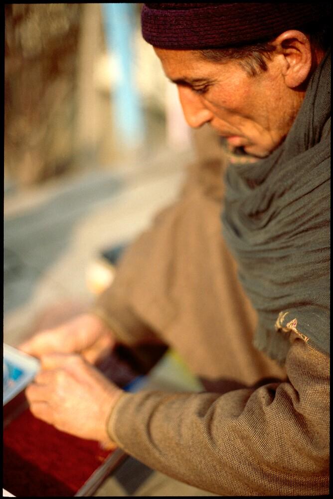 travelling Saffron merchant by Glen Barton