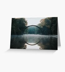 The Devil's Bridge Greeting Card