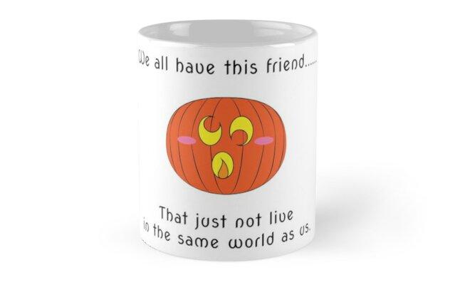 « Pumpkin wierd friend » par Omelia-Plude