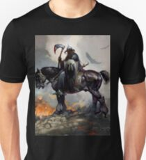 DarkWolf from Animated movie Fire and Ice Unisex T-Shirt