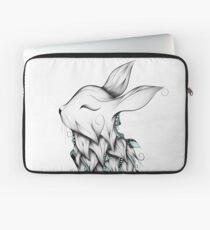Poetic Rabbit  Laptop Sleeve