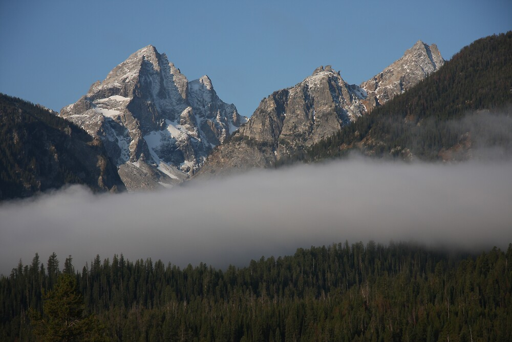 Teton Cloudbank by noffi