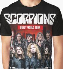 Scorpions Crazy World Tour Graphic T-Shirt