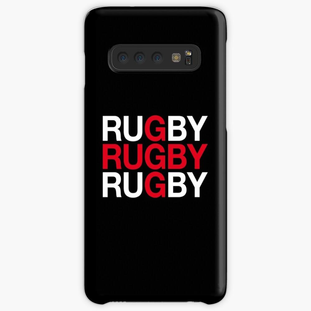 RUGBY Hülle & Klebefolie für Samsung Galaxy