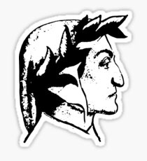 Dante Alighieri Sticker
