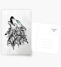 The Wolf  Postcards
