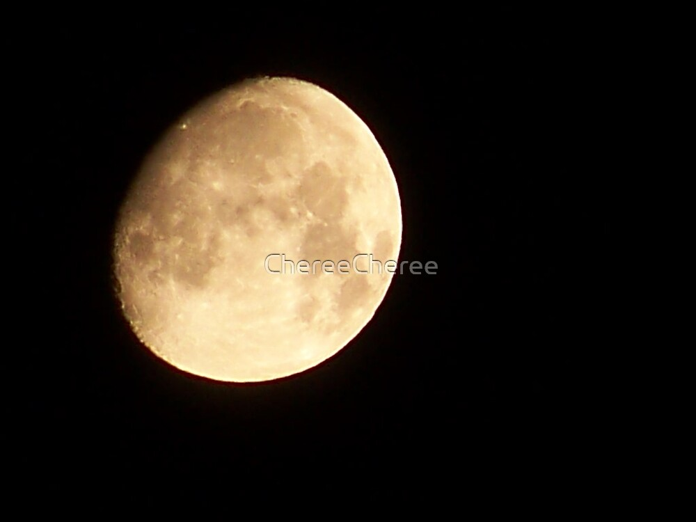 The Moon by ChereeCheree