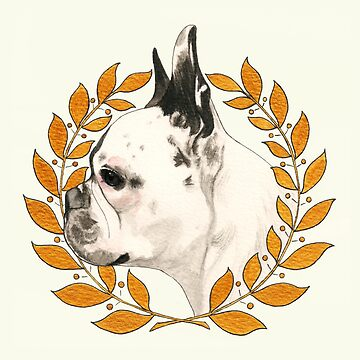 Bulldog Francés - @french_alice de PaperTigressArt
