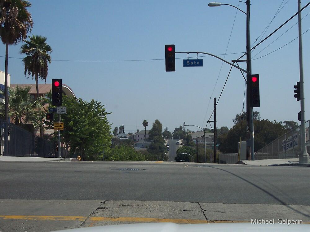 Crossing Soto street by Michael  Galperin