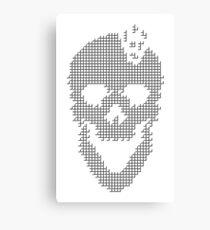 Skull Tetris Canvas Print