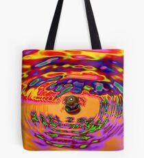 hot wax Tote Bag