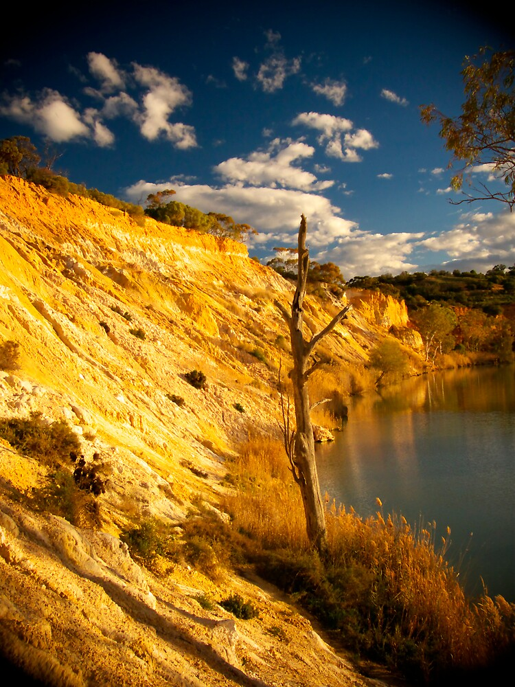 Murray River Cliffs by Emjay01
