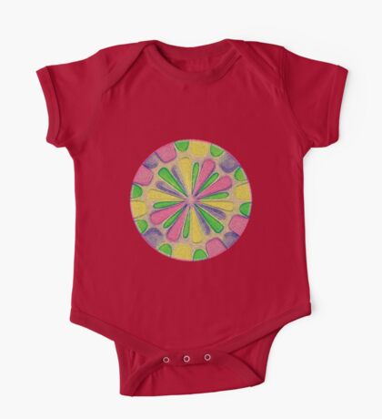 Abstract Flower Kids Clothes