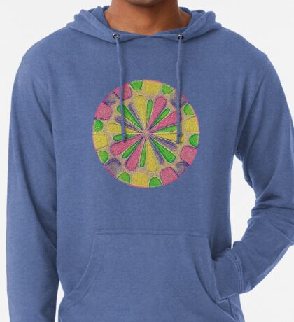 Abstract Flower Lightweight Hoodie