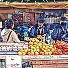 Fruiterer - Altona Market Day -Victoria, Australia by © Helen Chierego