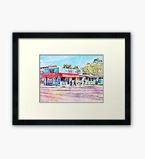 Altona Ice - Altona Beach - Australia Framed Print