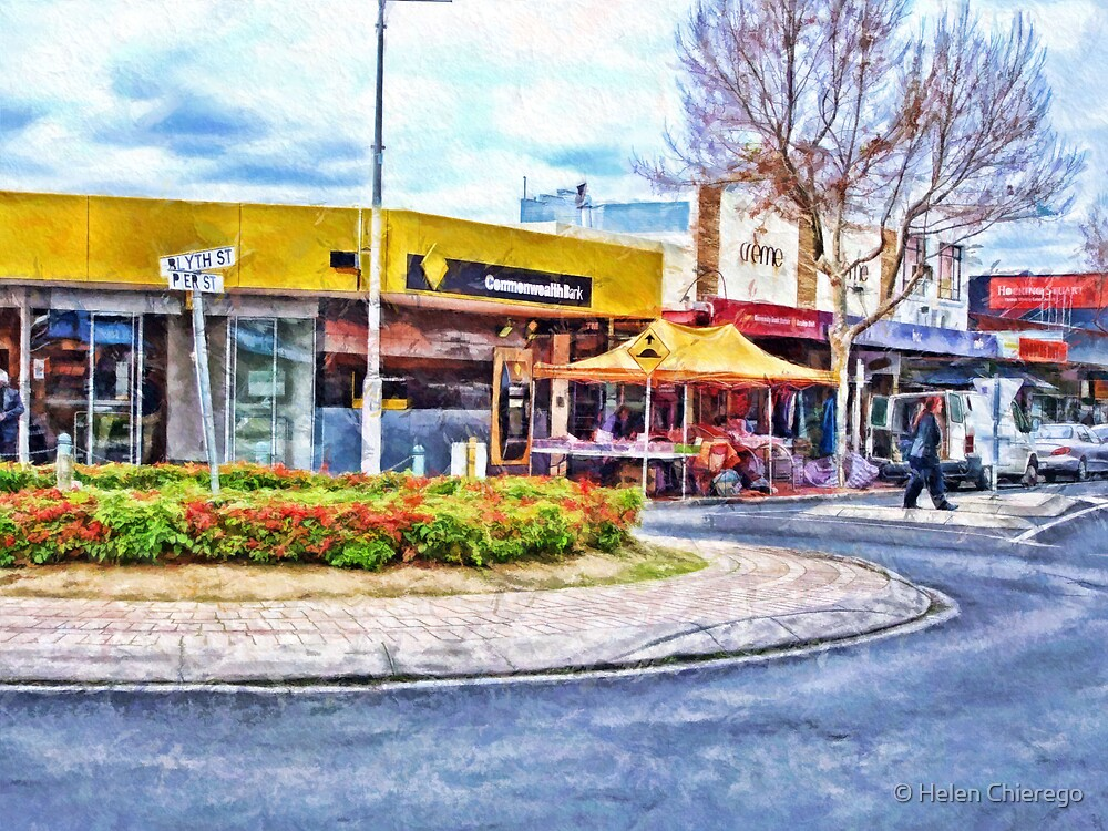 Altona, Victoria, Australia - Corner Blyth and Pier Streets  by © Helen Chierego