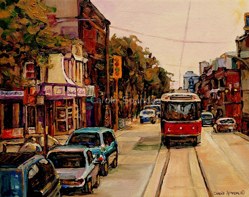 Quot Paintings Of Toronto Toronto Art Toronto City Scene