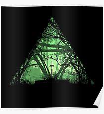 Póster Treeforce - La Leyenda de Zelda