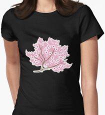 Sakura Love Womens Fitted T-Shirt