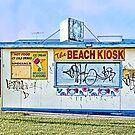 Altona Beach Kiosk - Victoria, Australia by © Helen Chierego