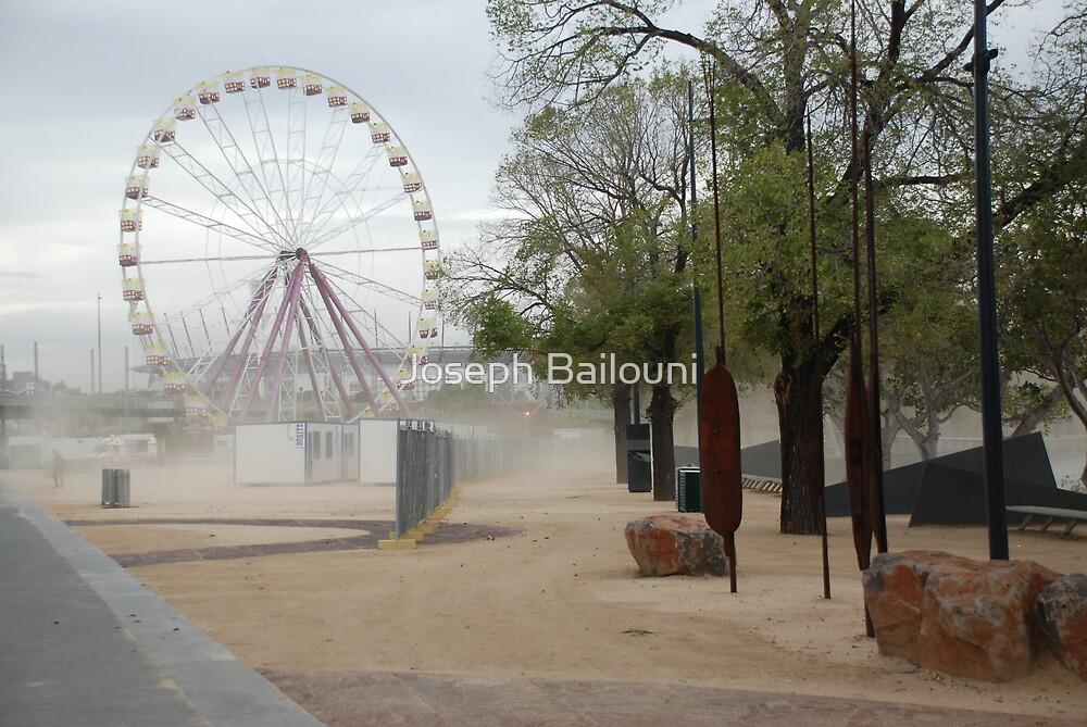 Dust storm by Joseph Bailouni