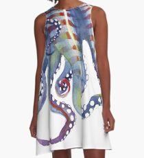 Sea Monster A-Line Dress