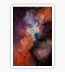 Space Clouds Sticker