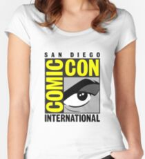 Comic Con Women's Fitted Scoop T-Shirt