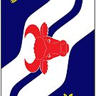Oxfordshire Flag Phone Cases by mpodger