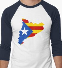 Catalonia Men's Baseball ¾ T-Shirt