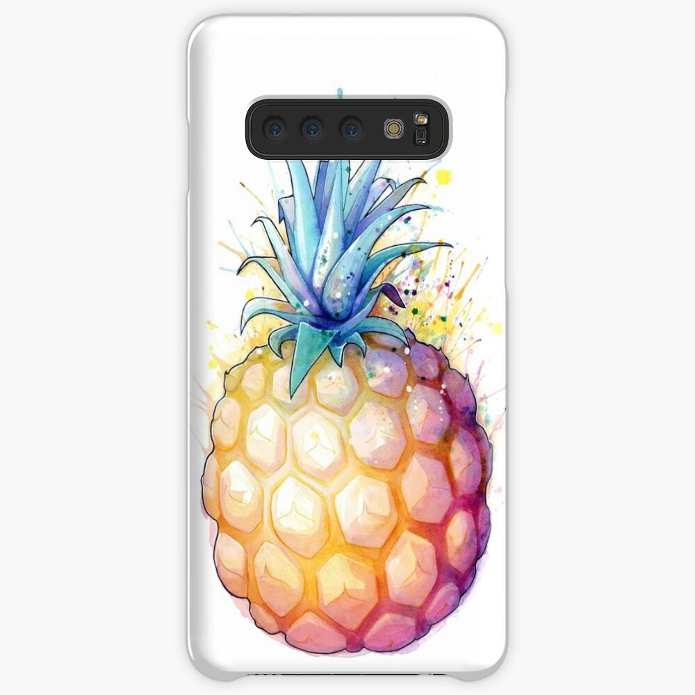 Fetter Ananas 2 Hülle & Klebefolie für Samsung Galaxy