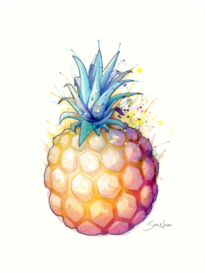 Fat Pineapple 2 by SamNagel