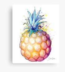 Fat Pineapple 2 Canvas Print