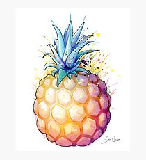Fat Pineapple 2 Photographic Print