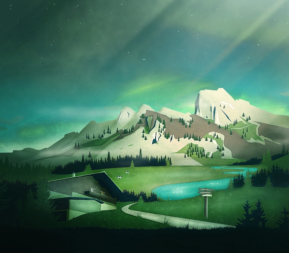 Alpine Enchantment by schwebewesen