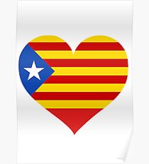 Catalonia Love Independence Poster