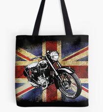 Classic BSA Motorcycle by Patjila Tote Bag