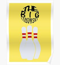 The Big Lebowski Retro Print Poster
