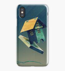 Flying Bird...house iPhone Case/Skin