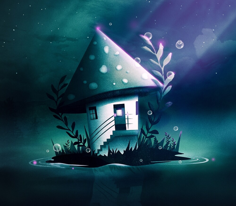 Magic Mush Room by schwebewesen