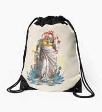 The Blossoming of Venus Drawstring Bag