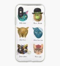 Famous cats iPhone Case