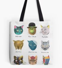 Famous cats Tote Bag