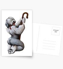 Saucy Sheepdog Postcards