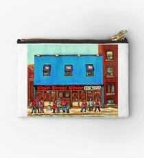 OTTAWA PAINTINGS OTTAWA ART OTTAWA DELIS ELGIN STREET DELI IN OTTAWA Studio Pouch