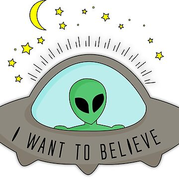 I want to believe by iehrina