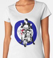 Jimmy The Mod Target Women's Premium T-Shirt