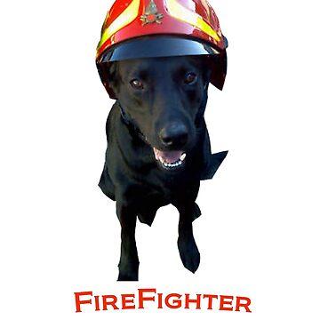 Firefighter dog by serj92