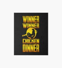 Winner Winner Chicken Dinner Art Board